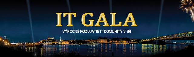 Súťaž – Kto sa stane IT osobnosťou roka? Poďte s nami na IT Gala.