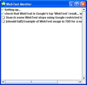 Canoo WebTest: 4.0 Stavebné prvky testovania 3
