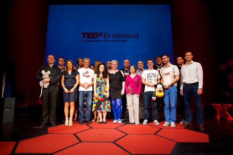 TEDx Bratislava: Ako vybudovať spoločný úľ