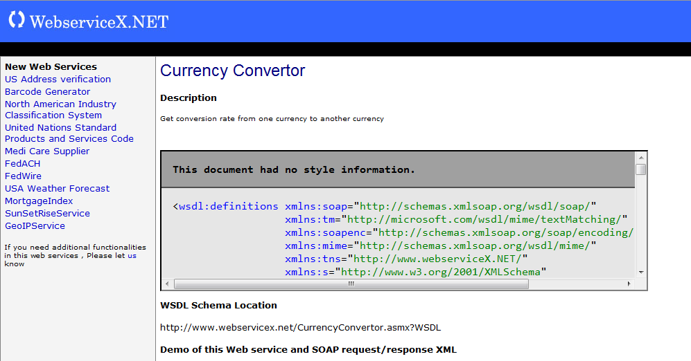 Automatické testovanie webových služieb I.
