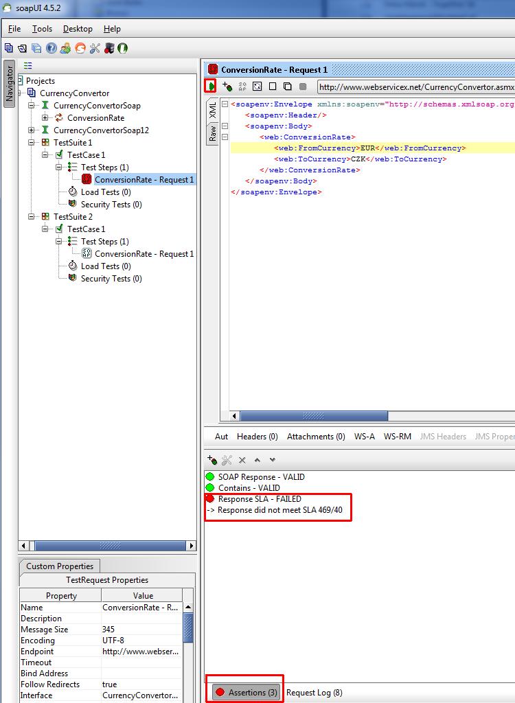 Automatické testovanie webových služieb II.
