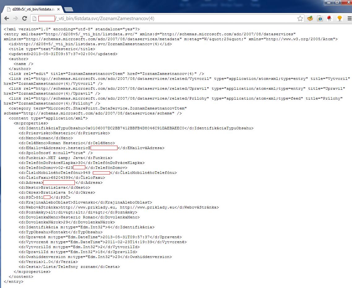 """SharePoint ako rozšírenie do Chrome - """"Snadno a rychle"""", časť II."""