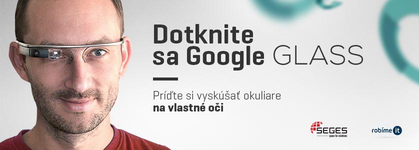 Dotknite sa Google Glass a pozrite si náš program na profesiadays.sk