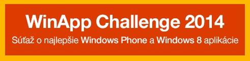 WinApp Challenge 2014: Súťaž pre Windows vývojárov štartuje!