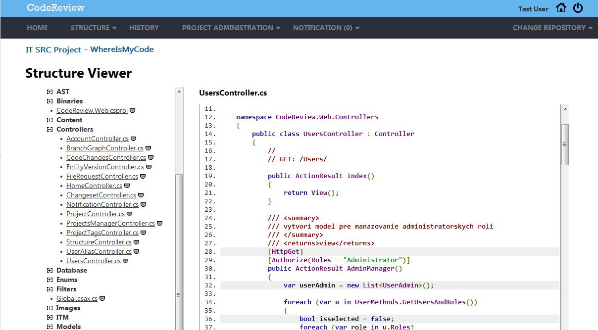 TP CUP 2014: CodeReview – Systém pre efektívnu prehliadku kódu v tímových projektoch