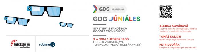 GDG Juniáles – stretnutie nadšencov Google technologií