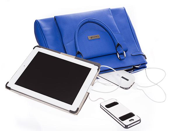 Kabelka Ladybag zohreje telo azároveň nabije telefón či tablet