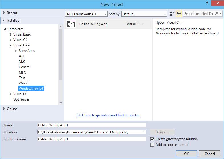 Windows na mikrokontrolérovej doske Intel Galileo