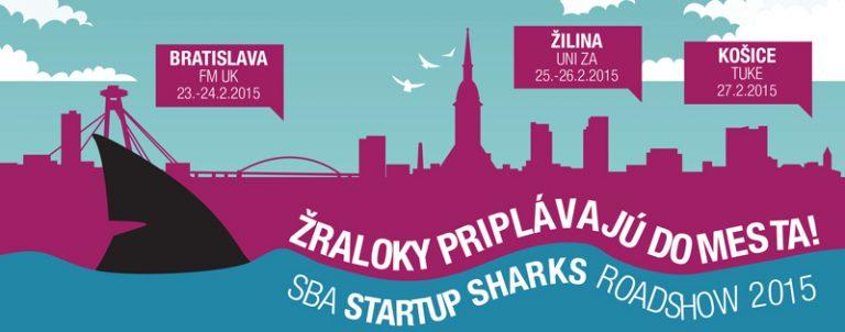 Startup Sharks Roadshow 2015