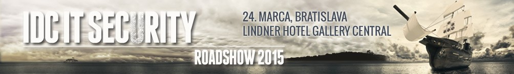 [Súťaž] Voľná vstupenka na IDC IT Security Roadshow 2015