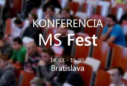 Technická konferencia pre vývojárov MS FEST 2015 Bratislava