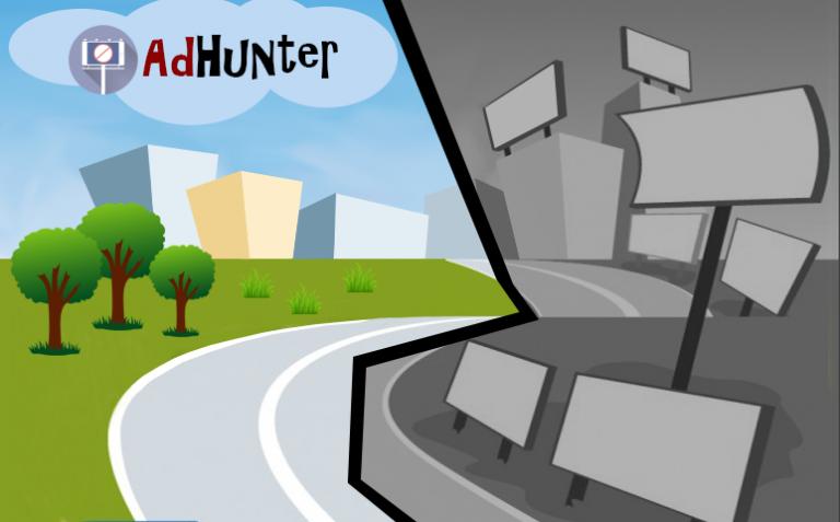 AdHunter – zmapovanie vizuálneho smogu