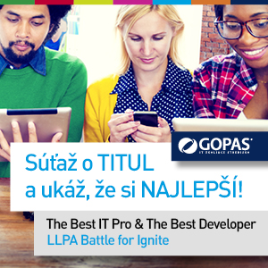 [Súťaž] The Best IT Pro & The Best Developer
