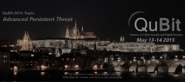 Would you like to attend the QuBit 2015 Cybersecurity Conference in Prague on May 13-14?