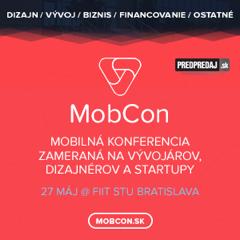 [Súťaž] Od vývojárov pre vývojárov – konferencia MobCon