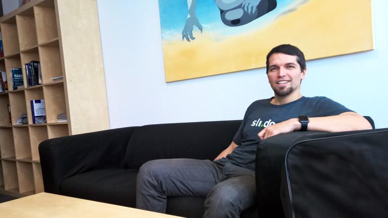 """Peter Komorník zo Sli.do: """"Čo si najviac vážim na slovenských vývojároch je to, že dokážu kriticky rozmýšľať"""""""