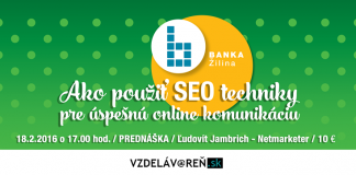 Internetová akadémia v Žiline - SEO