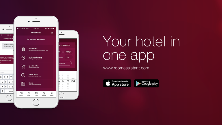 Do hotela jedine so smartfónom a RoomAssistant