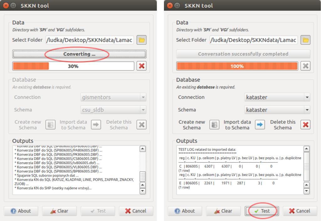 Dialógové okno nového zásuvného modulu SKKN tool.