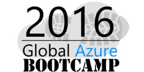 GLOBAL AZURE BOOTCAMP 2016!