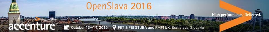 Fwd- Register Now- OpenSlava 2016 Conference in Bratislava, October 13-14, 2016 (1)