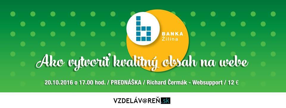 Obsahový marketing - Internetová akadémia Vzdelávareň.sk