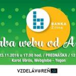 Tvorba webu od A po Z - Internetová akadémia v Žiline