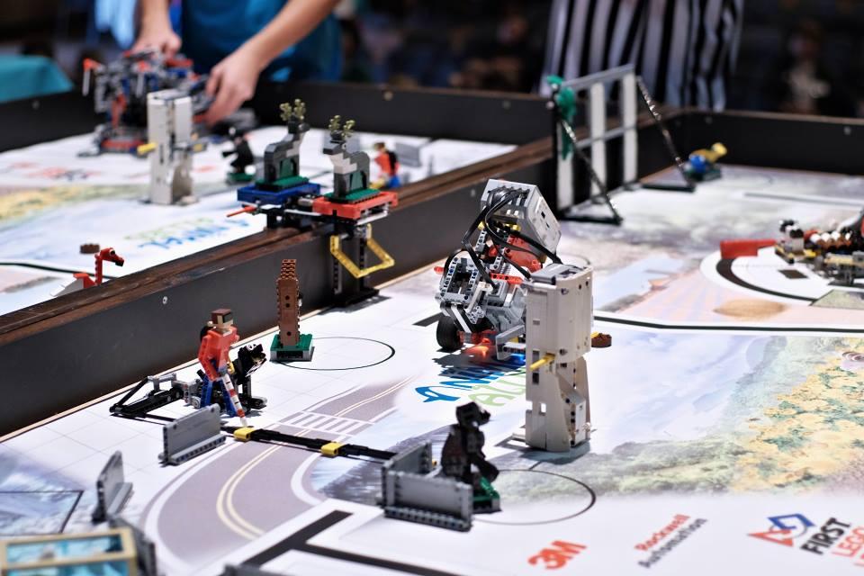 Regionálne turnaje súťaže FIRST LEGO League 3