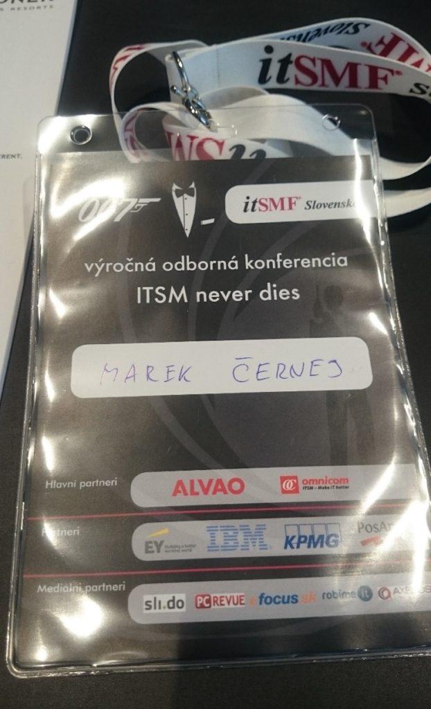 """""""ITSM never dies"""" alebo ak by bol James Bond ITčkárom 7"""