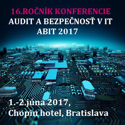 Audit a bezpecnost v IT - ABIT 2017
