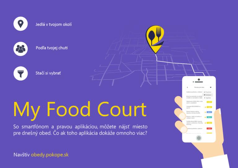 MY FOOD COURT – personalizované stravovanie