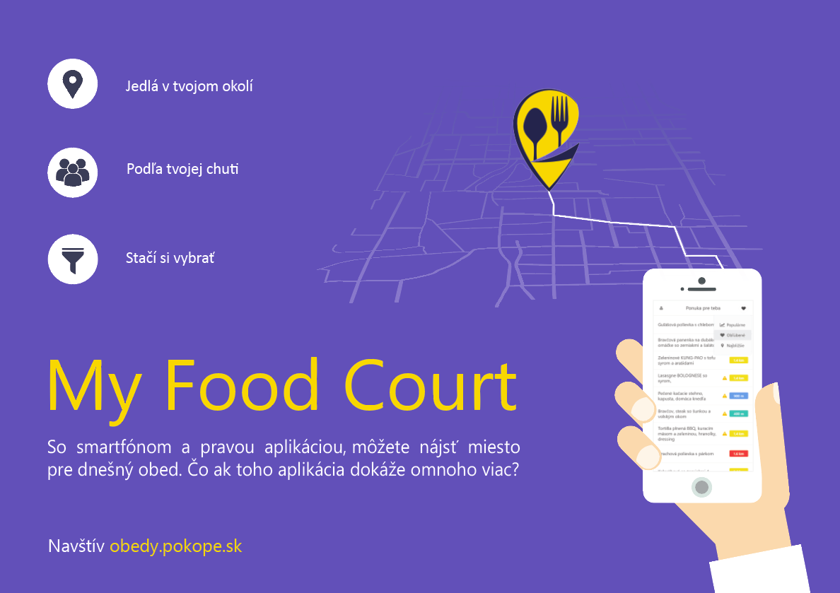 MY FOOD COURT - personalizované stravovanie 1