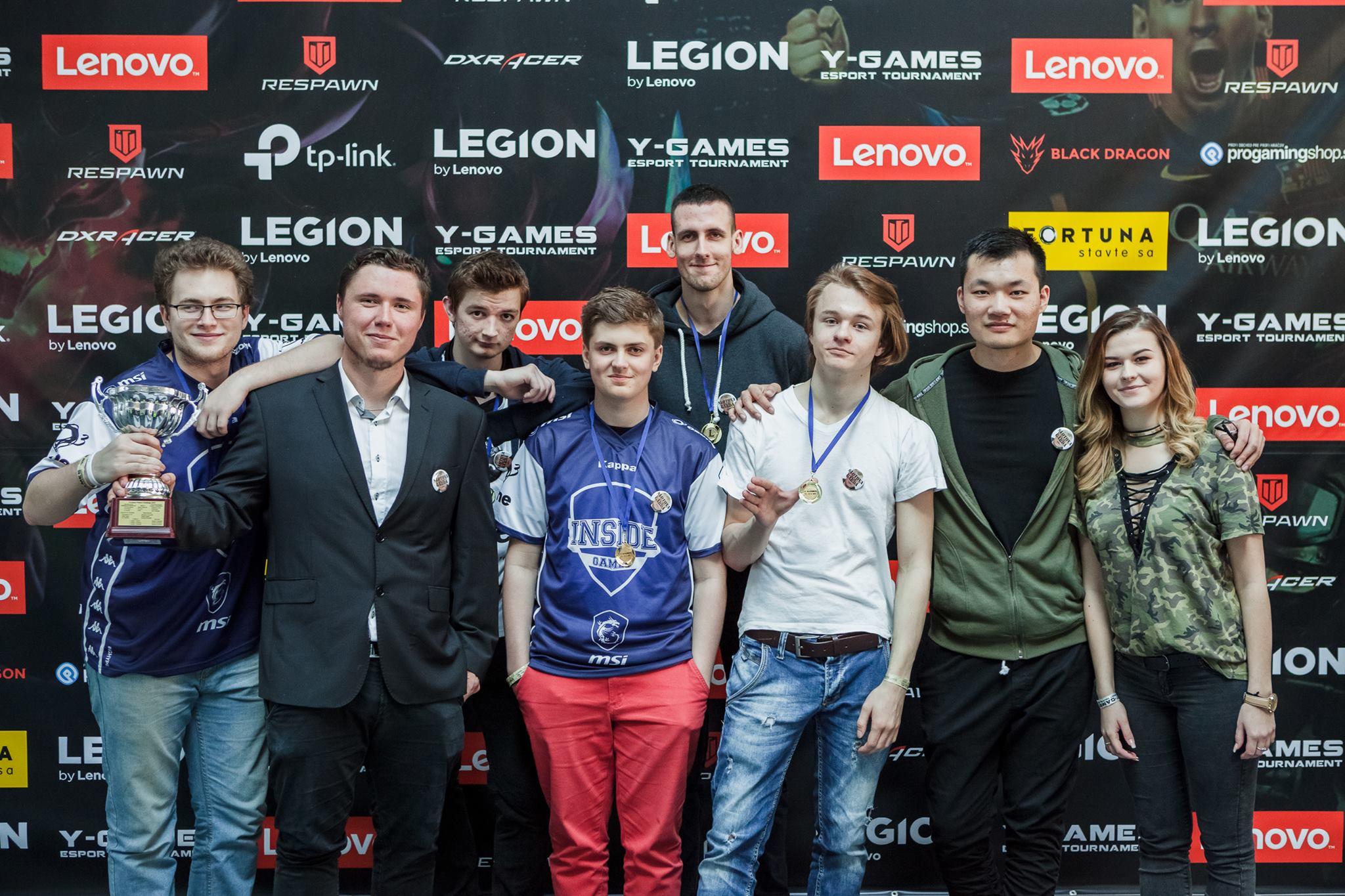 Herný turnaj LENOVO LEGION Y-Games 2017 už spoznal svojich víťazov 17