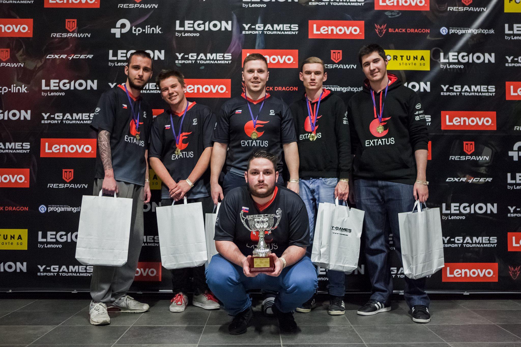 Herný turnaj LENOVO LEGION Y-Games 2017 už spoznal svojich víťazov 13