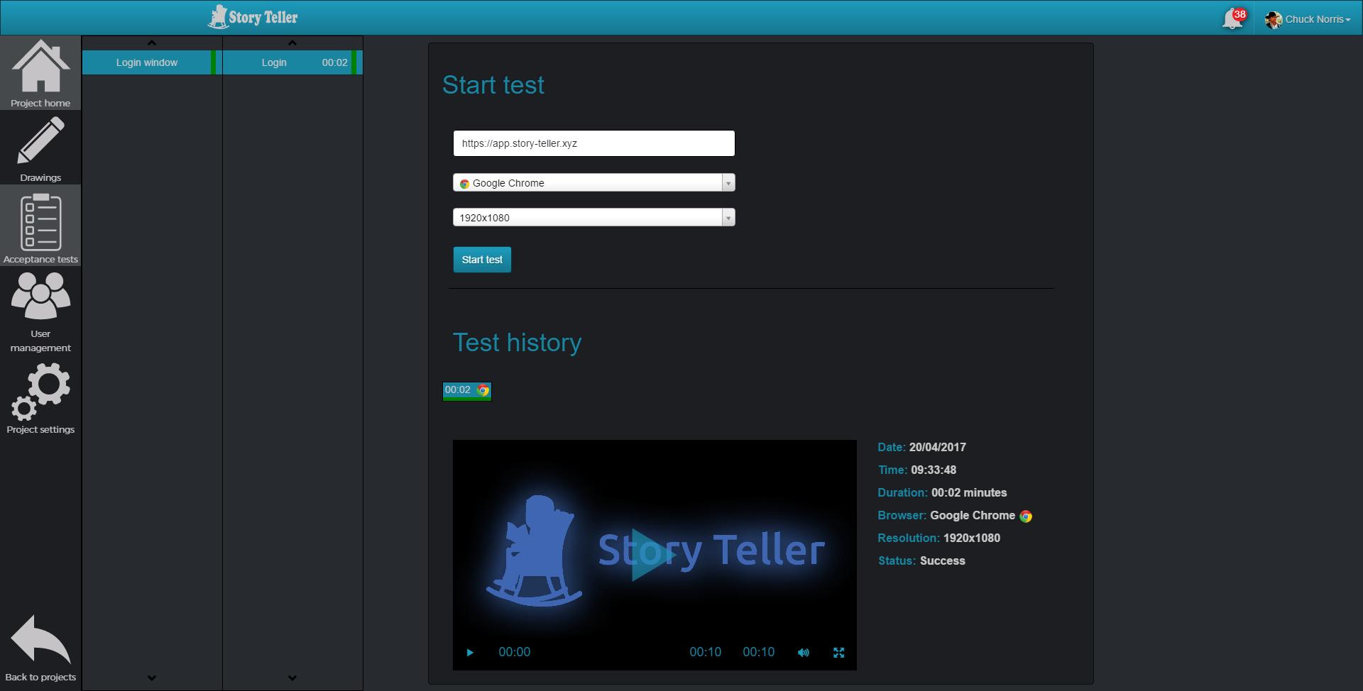 STORY TELLER - zber a vyhodnocovanie požiadaviek