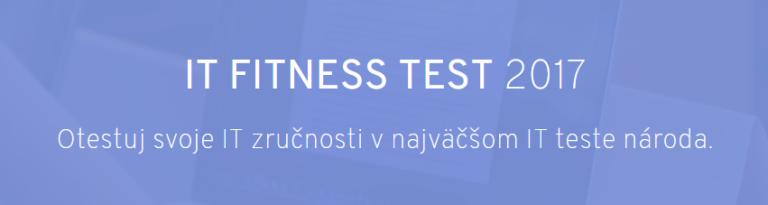 Štartuje veľké testovanie IT zručností Slovákov – IT Fitness test 2017