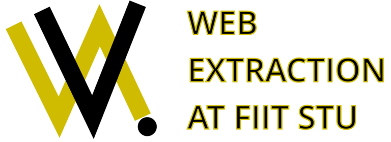 WEB EXTRACTION – Extrakcia dát z webu