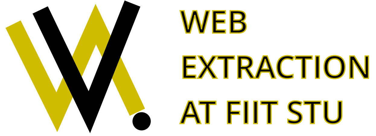 WEB EXTRACTION - Extrakcia dát z webu 1