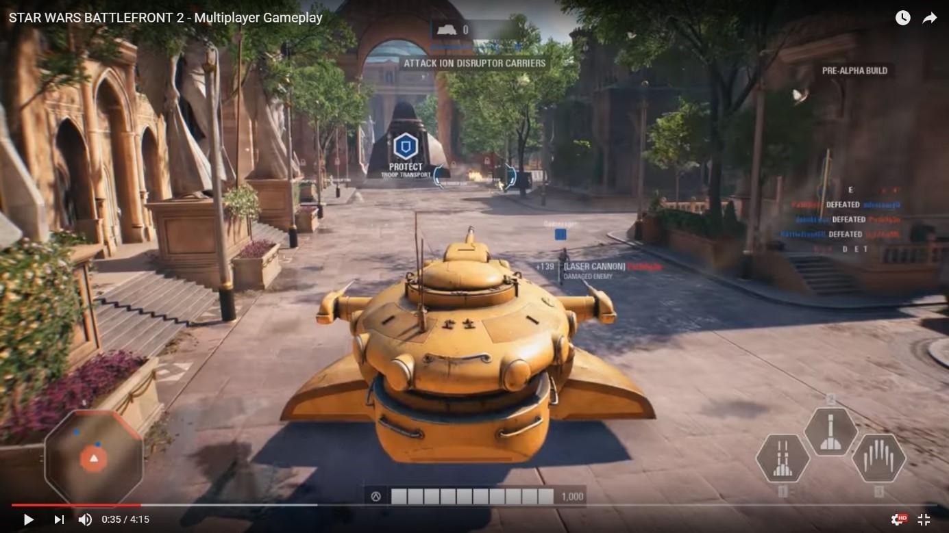 Gameplay a zhrnutie nových herný mechaník nového Battlefrontu