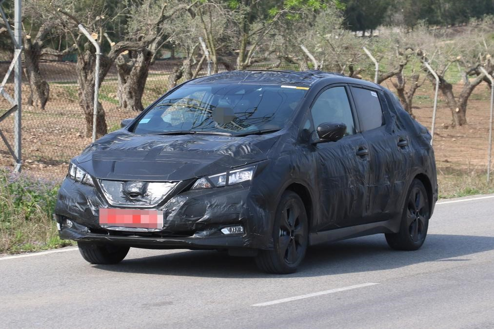 Testovacia verzia Nissanu Leaf na cestách