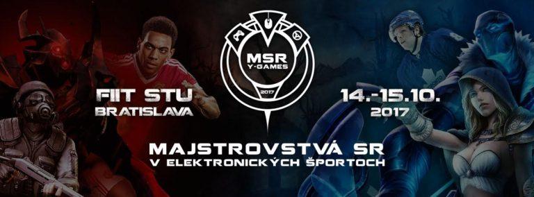 Majstrovstvá Slovenska v elektronických športoch opäť prichádzajú do Bratislavy!