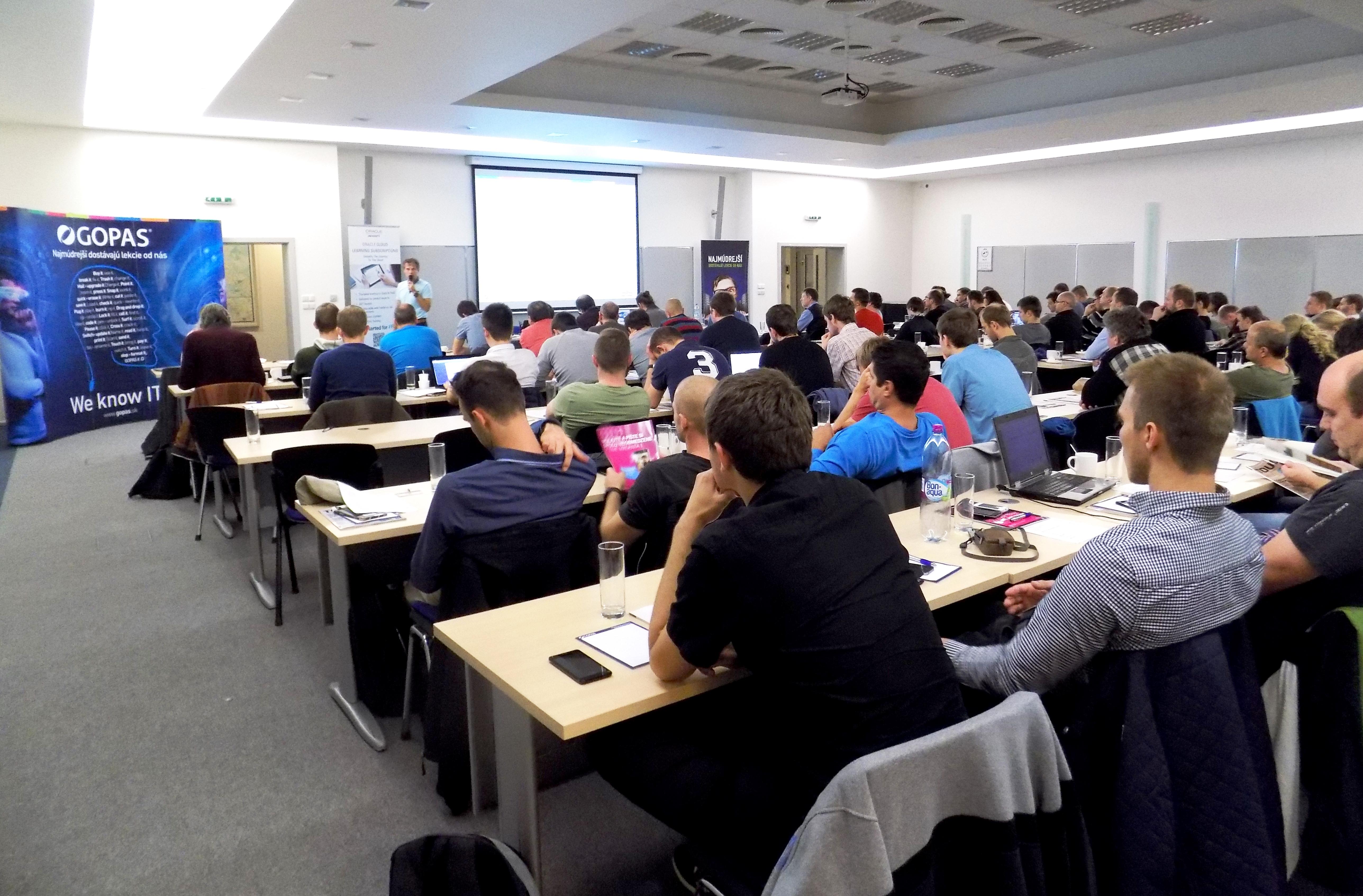 Konferencia pre tých, ktorí vedia ako chutí kvalitná Java 3