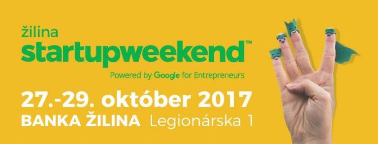 Vyskúšaj si život startupistu na Startup Weekende Žilina [súťaž o lístky]