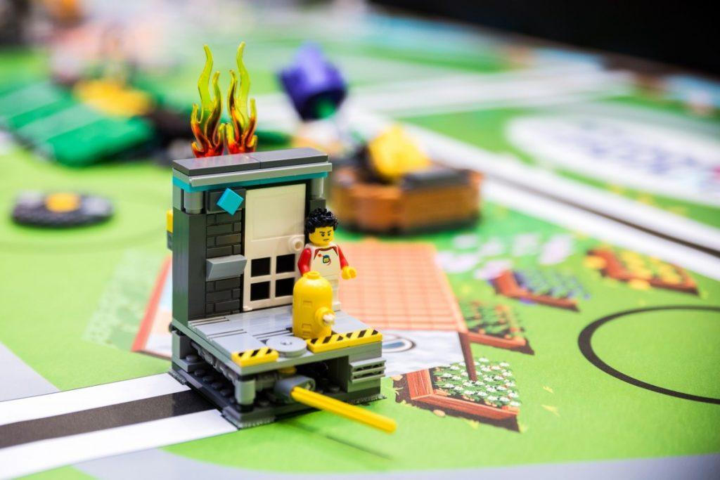 Lego robota Berthu stavali víťazi regionálneho kola First Lego league 2 mesiace 1