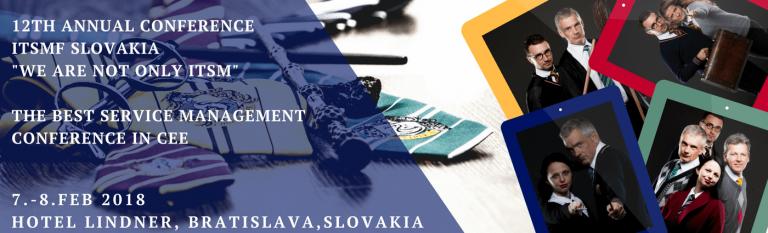 Nie sme iba ITSM! – Odborná konferencia IT Service Management fóra