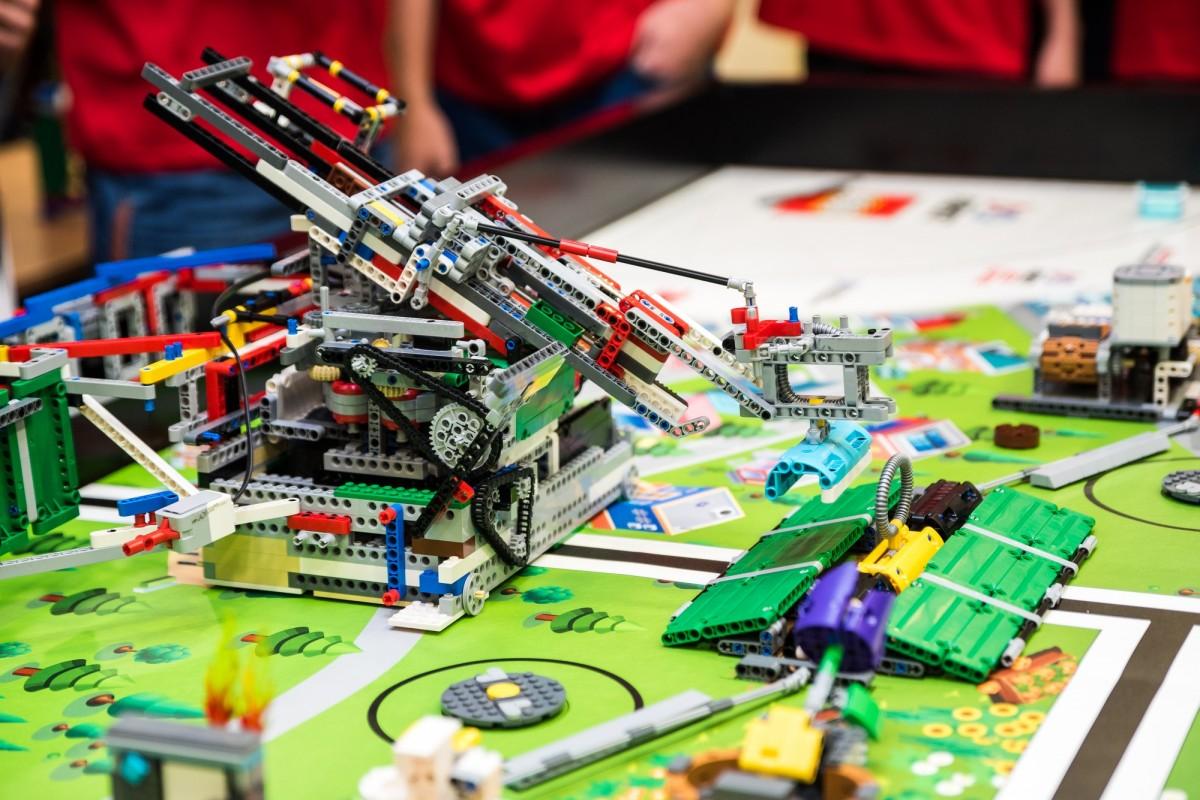 Lego robota Berthu stavali víťazi regionálneho kola First Lego league 2 mesiace