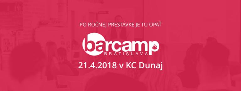 Ne-konferencia BarCamp 2018