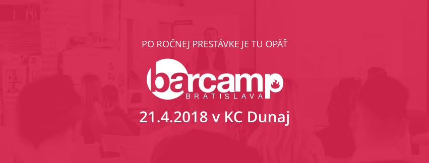 Ne-konferencia BarCamp 2018 1