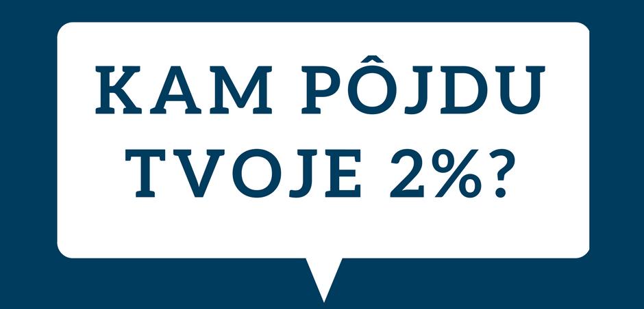 Aj tvoje 2% môžu zmysluplne pomôcť v IT komunite 1