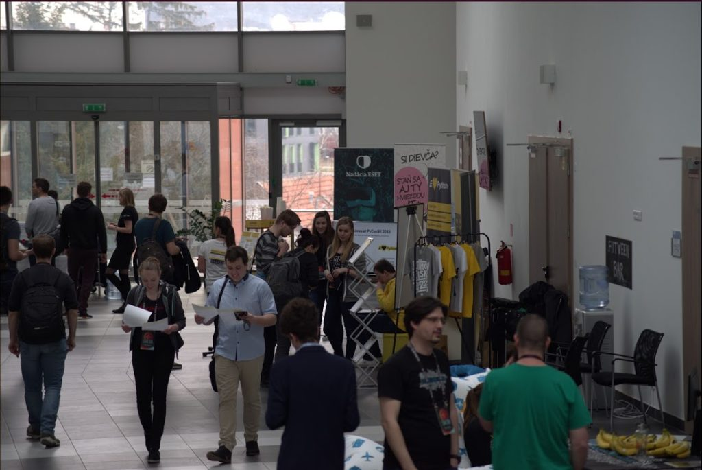 Konferencia PyCon 2018, Autor: Juraj Petrík